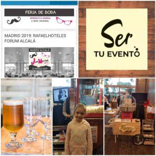 ¡Qué gran evento! #feriadebodas #soytuevento #carritospara eventos